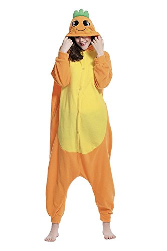 Apiidoo Unisex Carrot Halloween Pajamas Costumes Anime One Piece Cartoon Cosplay S - Cheap Couples Fancy Dress Costumes Uk