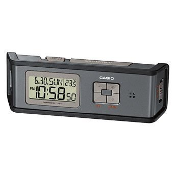Casio Protection Desk Alarm Clock with Flashlight GQ-50-1DF
