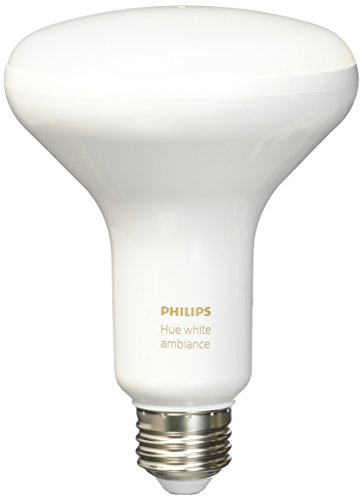 Philips 464800 Hue White Ambiance BR30 LED (Philips Wake Up Light Bulb)