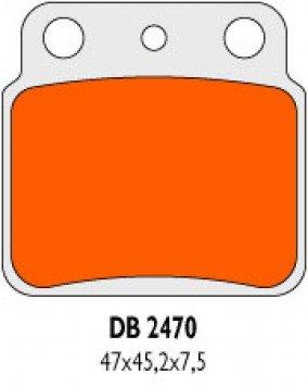 Delta Bremsbel/äge Bremsen gesintert DB2470QDN Typ Pumpe