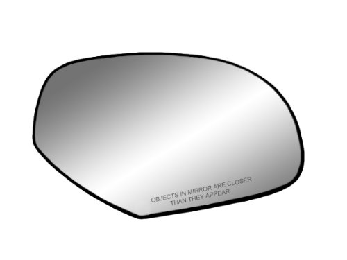 senger Side Non-heated Replacement Mirror Glass with Backing Plate ()