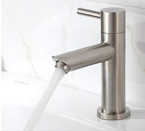 Oudan Stainless steel basin faucet stainless steel lead-free drawing basin faucet