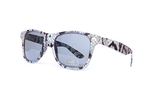 UV protezione estivi anti sole classici da V16 schwarz Occhiali Retro 1076 con Unisex xHR0qAnw