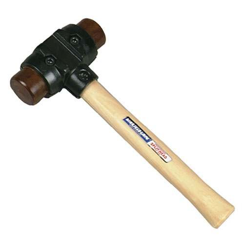 Split-Head Hammers - 587-14 split head hammerwith rawhide fac ()