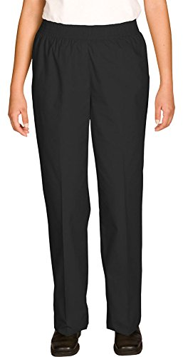 Edwards Women's Poly/Cotton Pull-On-Pant, BLACK, Medium by Edwards