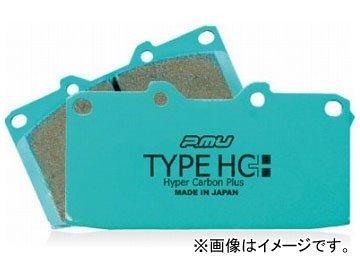 Projectμ ブレーキパッド フロント TYPE HC+ F906 スバル WRX STI GRB brembo 2000cc 2007年12月~ B008ONIS1I