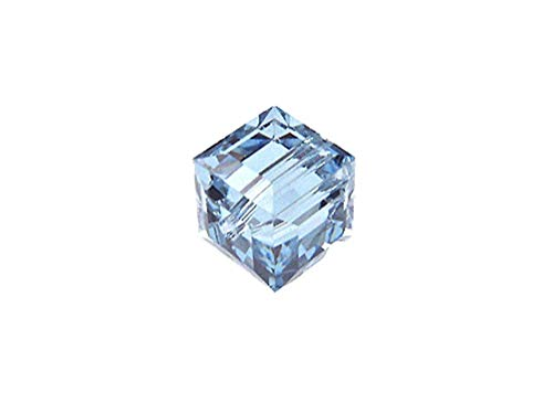 Wholesale Genuine Swarovski 5601 4mm Alexandrite Cube Beads, Choose Package Size (48)