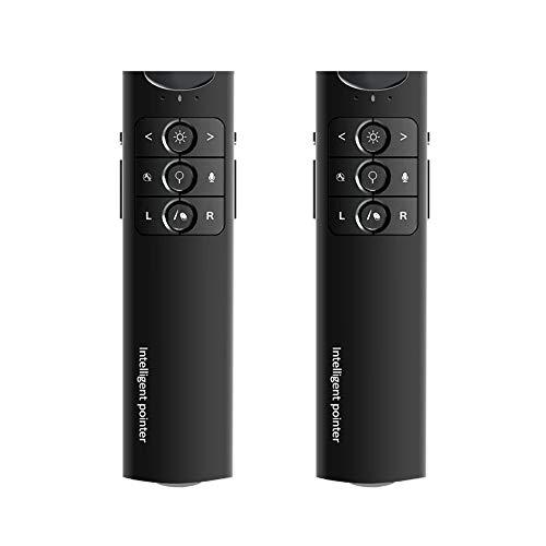 XMDFY 2019 Upgrade Portable Smart Multi-Language Synchronization Translator,Multifunction Wireless Presenter,PPT Controller Presentation Remote Control Pointer USB Mouse Clicker Flip Pen,Two by XMDFY (Image #8)