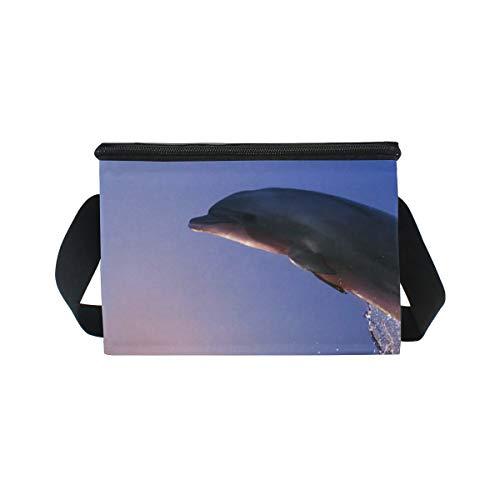 déjeuner lunch mer Boîte pique pour de Jump à Bandoulière à partir nique Sac Dolphin Cooler Wave à 1qW5xpw