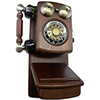 Classic Wall Mountable Home Corded Phones Replica