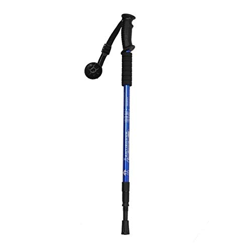 Alpenstocks 3Section Adjustable Aluminum Alloy Canes Ultralight Pole Walking Camping Hiking Trekking Sticks Plastic Handle blueee, Australia