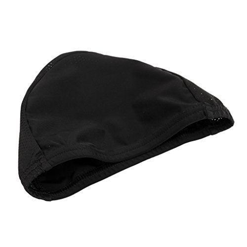 Cooling Cap / Helmet Liner Hat / Skull Cap / Running Cycling Bicycle Beanie - Ultimate Performance Moisture Wicking Fits for Under Helmets - Black ()