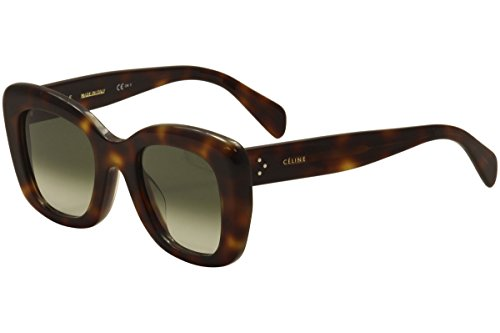 Celine Tortoise Sunglasses CL 41439/F/S - 05LXM by CEL