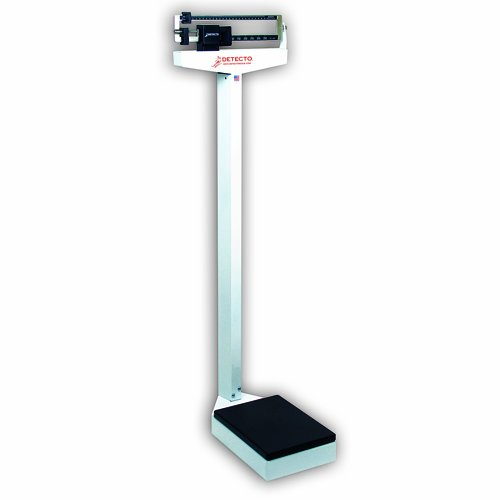 Detecto 337 Dual Reading Eye Level Physicians Scale without Height ()