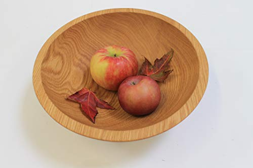 12 Inch Solid Red Oak Bowl - Holland Bowl Mill