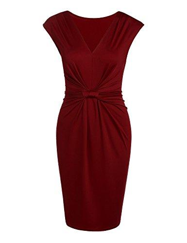 Ruched Front Dress - 1