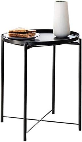 Laagste Prijs WGZ – bureau, balkon, bloemen, salontafel van ijzer, eenvoudig, decoratie, kleine tafel, rond, kantoor D  DImOW5y