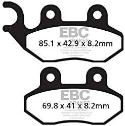 Pastillas de Freno compatibles con Peugeot Belville Cotton LXR SV Tweet EBC SFA264