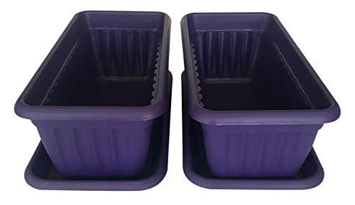 (Premium High-Density Plastic Planter