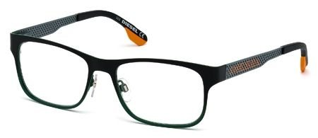 DIESEL for man dl5074 - 098, Designer Eyeglasses Caliber 54