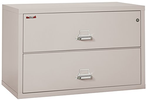 Fireking Fireproof Lateral File Cabinet (2 Drawers, Impac...