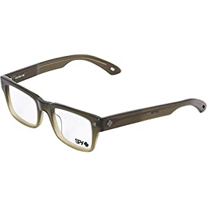 Spy Braden Wayfarer Eyeglasses,Jungle Fade,49 mm