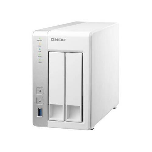 QNAP TS-231 Freescale ARM Cortex-A9 1.2GHz/ 512MB RAM/ 2GbE/ 2SATA3/ eSATA/ USB3.0/ 2-Bay Tower NAS Server for Home & SOHO (QNAPTS-231 )