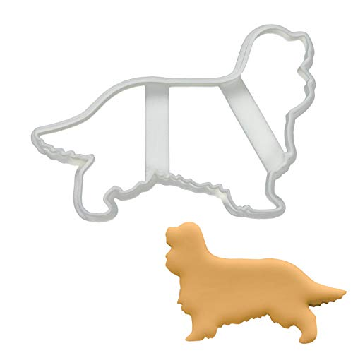 King Charles Spaniel Silhouette cookie cutter, 1 piece - Bakerlogy