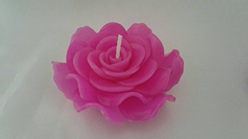 Christmas Light Party Indoor Outdoor Floating Candle GaanZaLive36 Rose, 4inch (Pink)