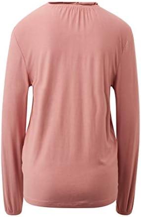 TOM TAILOR Damska T-Shirts/Tops T-Shirt mit Rüschen: Odzież