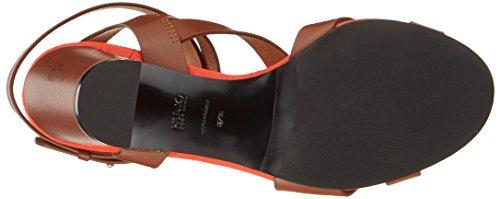 Hugo Uptown 90-c, Sandali con Cinturino alla Caviglia Donna Marrone (Medium Brown 217)
