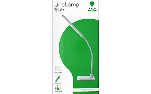 Daylight Company LLC UN1420 Daylight Uno LED Art & Craft Table Lamp - White,