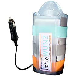 LITTLEWUNZ Travel Car Baby Bottle Warmer