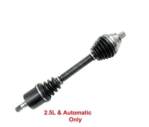 DTA DT126731 Front Driver Side Premium CV Axle Fits 2012-2014 VW Passat 2.5L Automatic Only (Passat Cv Axle)