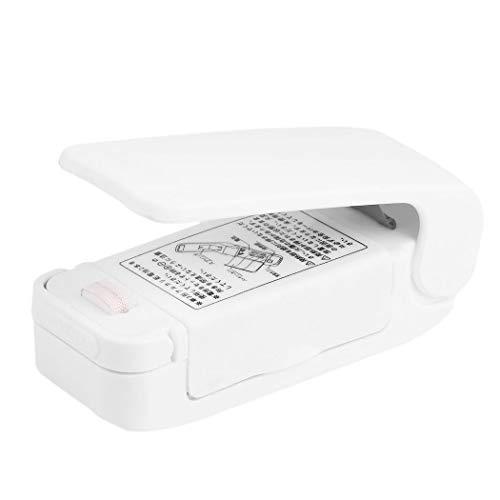 Esqlotres Mini Portable Heat Sealer Packet Resealer Handheld Bag Sealer Food Storage Vacuum Sealers Machine for Plastic Bag Vacuum Sealers