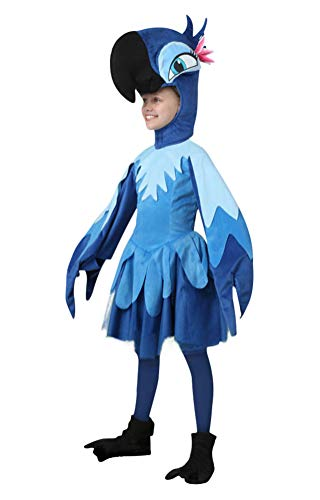 Parrot Costume Baby Girls, Infant Cute Halloween Cosplay Toddler Photography Outfit (Tag Size-18 Months)