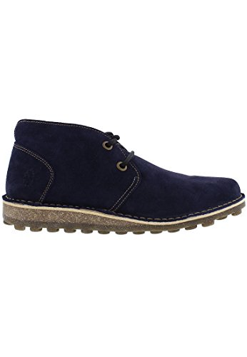 London Fly Blue Boot Mime Desert Casual Dark 4dxRdqr
