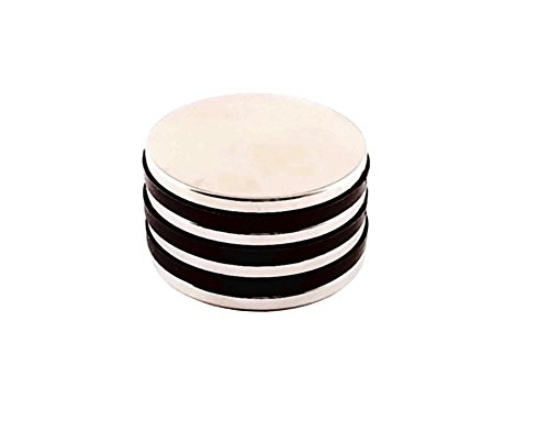 INNOVANT 4 Pack Neodymium Disc Magnets 1 1/2'' d x 1/8'' h N45 Grade Strong Permanent Rare Earth Magnets - Best for DIY Arts & Crafts Projects, School Classroom Science Project & Office or Work Supply by Innovant Supply (Image #8)