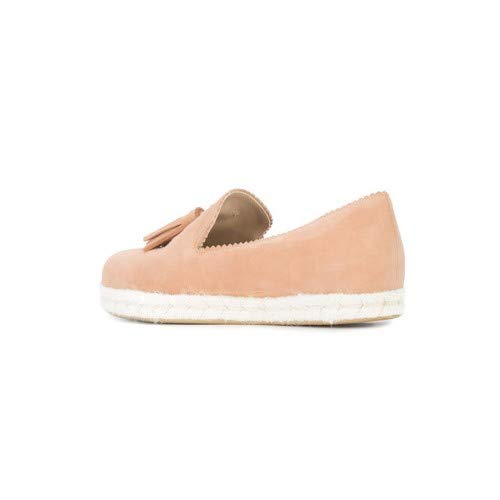 (Stuart Weitzman Womens Pyrenees Closed Toe Loafers, Naked Suede, Size 7.0)