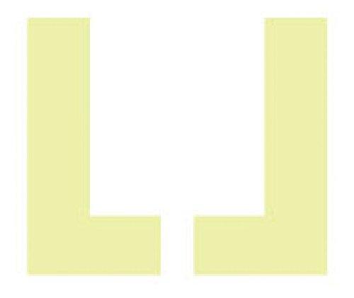 3450-L1-N National Marker Step Marker,3450 Glo Brite Safety Track Set 1