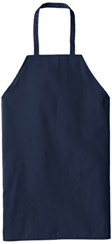 (Chef Designs Standard Bib Apron, Navy,)