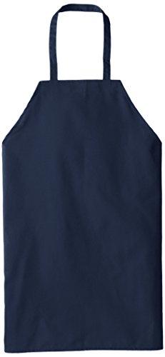Chef Designs Standard Bib Apron, Navy, 30x33