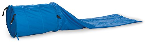 - Pacific Play Tents 90001 Dog Agility 3-Foot Tunnel with 8-Foot Chute, Blue