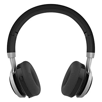 GabbaGoods Over Ear Wireless Foldable DJ Headphones for All Bluetooth Enabled Devices, iPhones, Smartphones, Tablets, MP3 Players.
