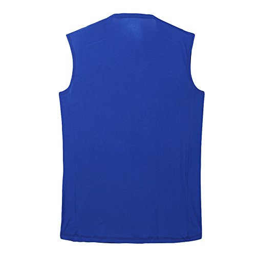 88d48cb9177af3 Mens Modal Undershirts Big and Tall Tank Top V-Neck Muscle Tee Shirt ...