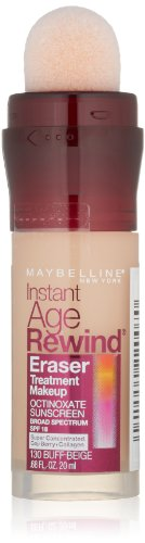 Star Bronzer Compact - Maybelline New York Instant Age Rewind Eraser Treatment Makeup, Buff Beige, 0.68 fl. oz.