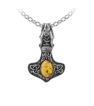 (Amber Dragon Thor's Hammer )