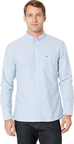 Tommy Jeans Men's Tommy Classics Oxford Shirt Light Blue - Shirt Hilfiger Tommy Oxford