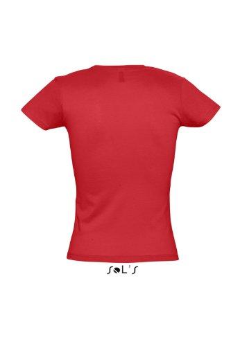 SOL´S Ladies T-Shirt Miss, Größe:S, Farbe:Red