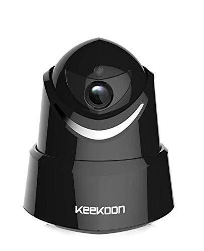 Wireless IP Camera,KEEKOON Two-Way Audio Night Vision 2.4GHz & 1080P for Pet Baby Monitor (KK05B) …